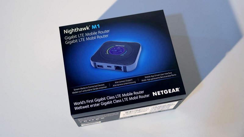 【開箱】NETGEAR Nighthawk M1 香港版,LTE 流動熱點全能旗艦
