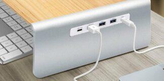 【優惠】 j5create JCT425 – 實木螢幕架連 USB-C PD 插座 香港最新價錢:$599